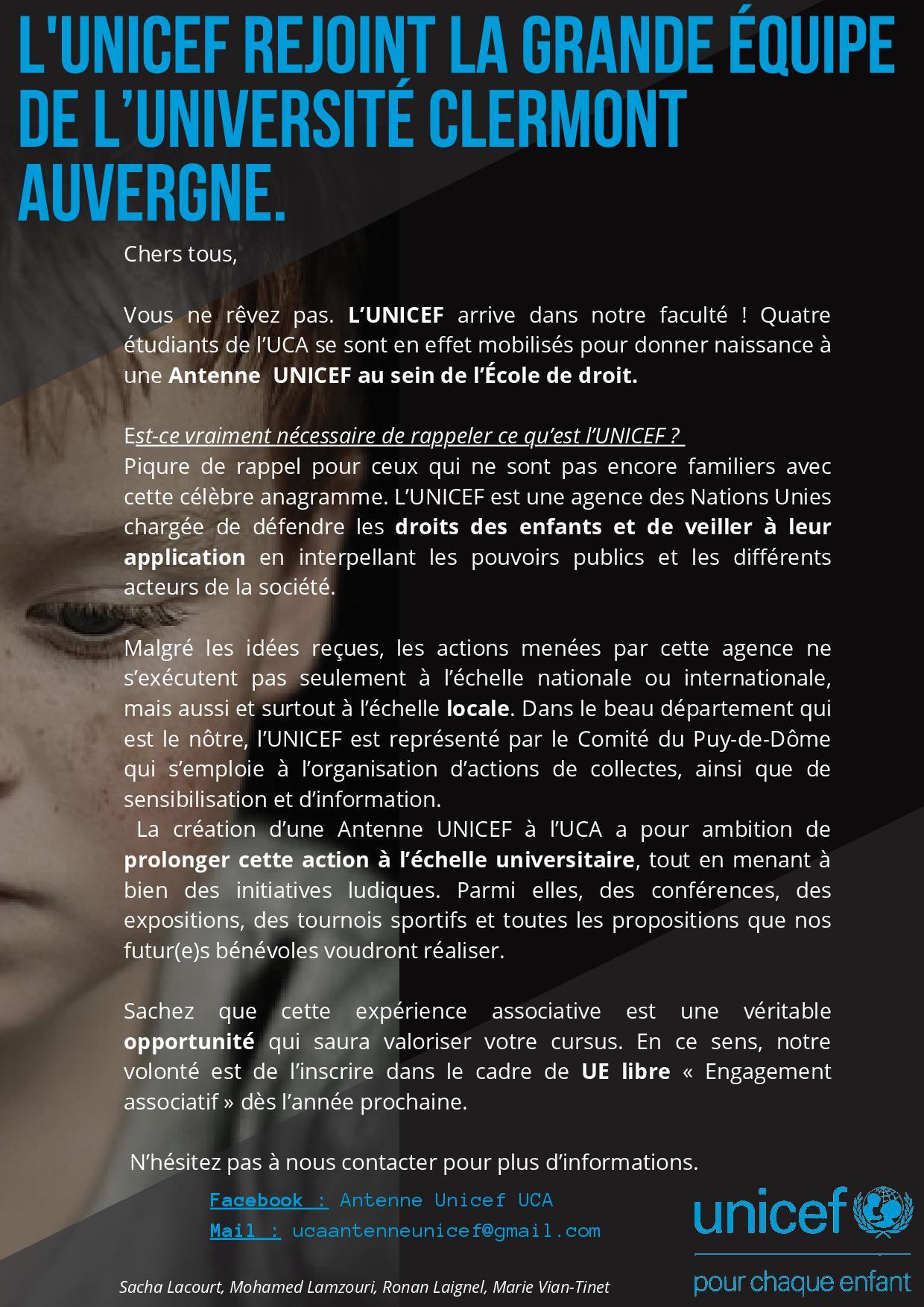 Antenne UNICEF